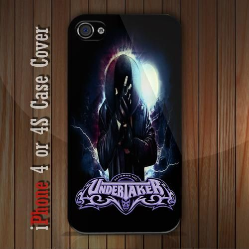 New WWE Undertaker iPhone 4 or 4S case Cover iPhone case 4/4S - 1