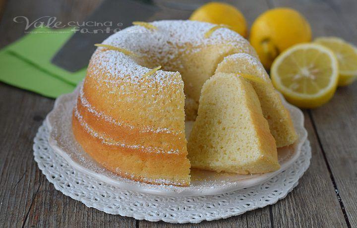 CIAMBELLA ALL ACQUA con succo di limone