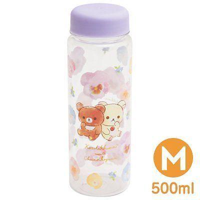 New Rilakkuma Relax Teddy Bear Ky56101 Water Bottle M 500ml | eBay