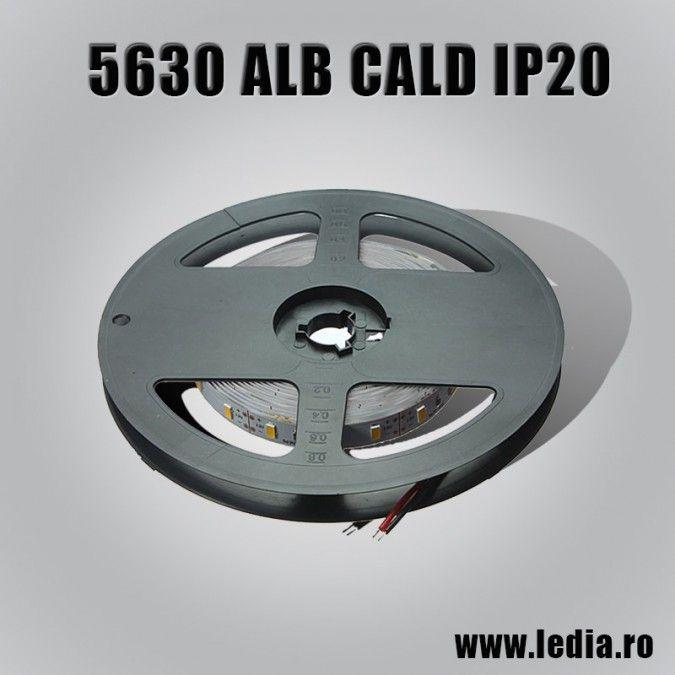 BANDA LED 5630 ALB CALD IP20