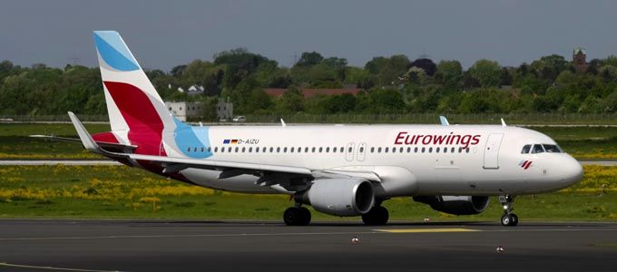 Mit Eurowings von Düsseldorf nach Edinburgh