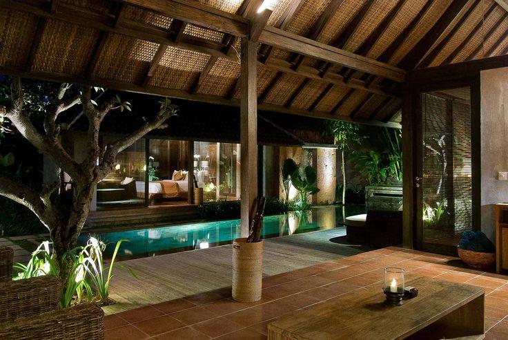 Bali Villa Photography - Komea Villas - villa bale night time lighting
