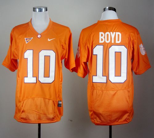 ... Purple Portrait Number NCAA College Football Jersey Tigers 10 Tajh Boyd  Orange Pro Combat Embroidered NCAA Jersey prices USD 23.50 cheapjerseys ... a6767564a