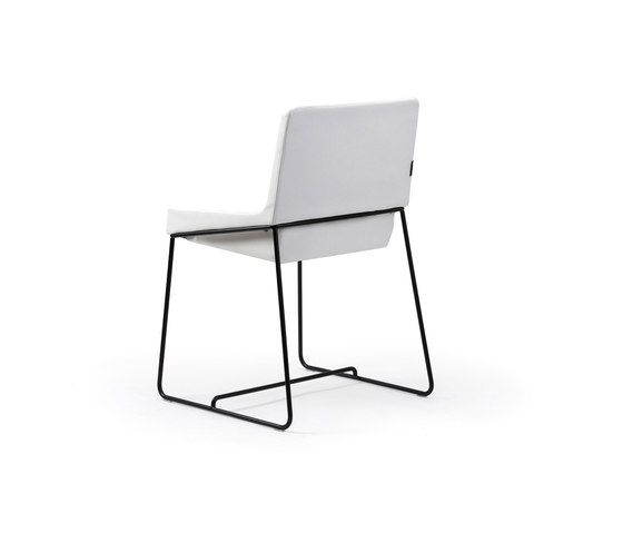 Tonic chair metal by Rossin | Conference chairs