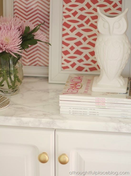 Faux Marble Countertops Easy Transformation Home