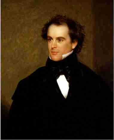 Nathaniel Hawthorne, author of The Scarlet Letter was pretty hot looking too.  Kinda like Tyrone Power.