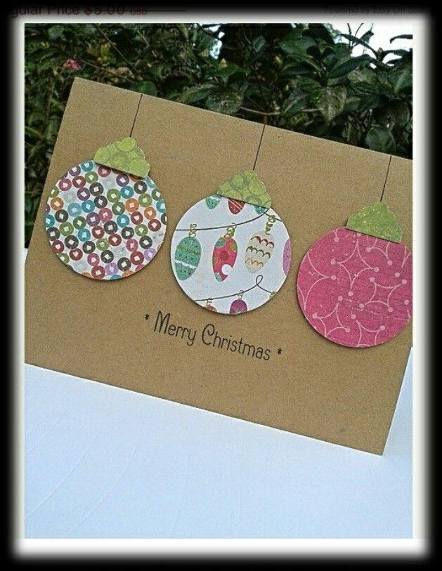 895 best Cards images on Pinterest Christmas cards, Diy - blank xmas cards