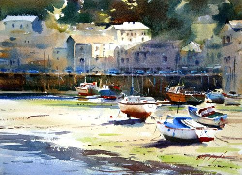 David Taylor Watercolor Artist | David Taylor painting