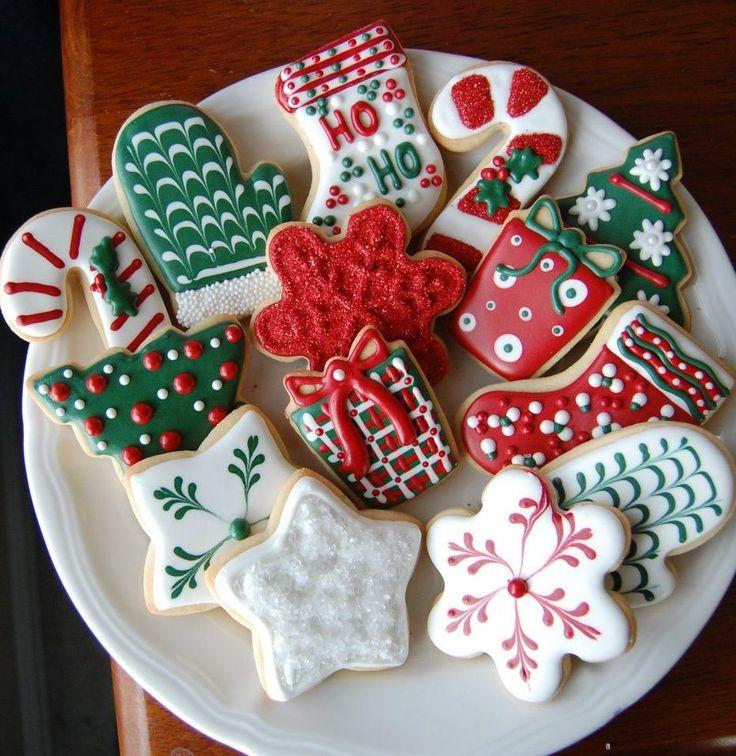 sugar cookies (christmas cookies decorated)