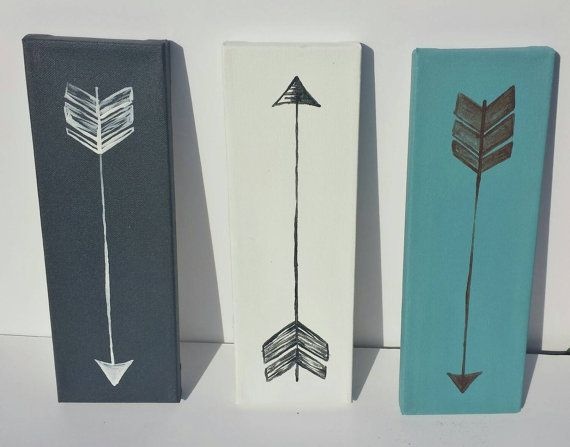 Best 25 diy canvas ideas on pinterest diy paintings on canvas canvas painting arrow painting 3 peice by creationsbyvictoriaa solutioingenieria Choice Image