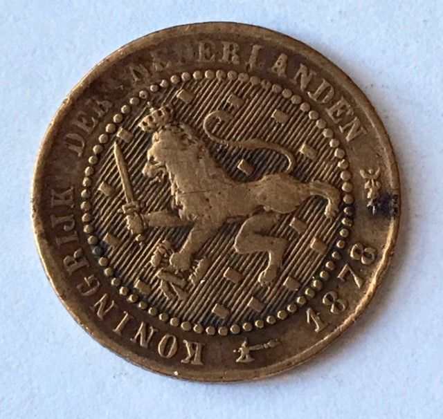 Nederlands Kingdom One Cent Silver Coin J2647 Coins Silver Coins Coin Auctions