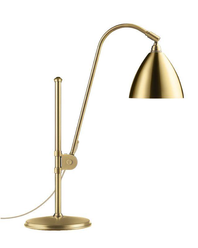 GUBI // Bestlite BL1 Table Lamp in all brass