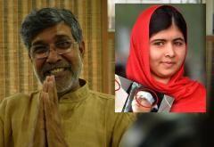 Courrier International - 10.10.14 INDE-PAKISTAN Le Nobel de la paix récompense la défense des droits des enfants  En Inde et au Pakistan, on salue l'attribution du prix Nobel de la paix à l'Indien Kailash Satyarthi et à la jeune Pakistanaise Malala Yousufzai. Tous deux mènent un combat pour défendre les droits des enfants.