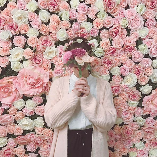 花惹花咖啡 hua cafe 花の壁 フラワーアレンジメント教室 ドライフラワー