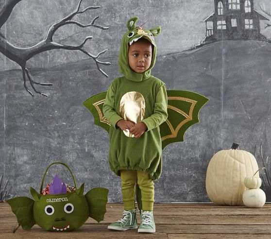 baby dragon costume pottery barn kids toddler halloween - Dragon Toddler Halloween Costume
