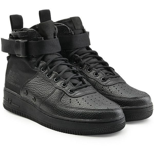 Nike SF Air Force 1 High Top Sneakers ($190) ❤ liked on ...