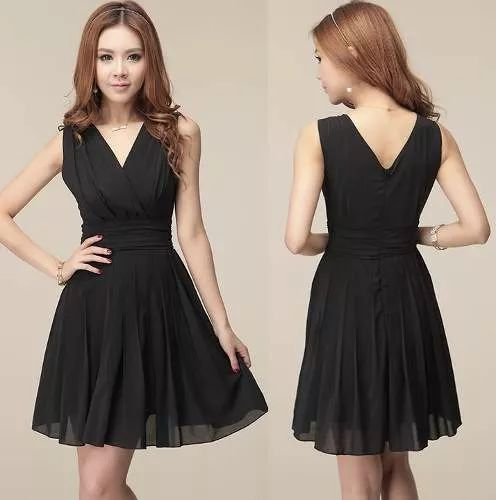 vestido corto para fiesta casual sexy elegante juvenil 618