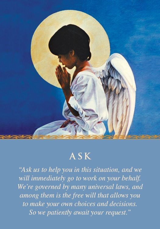 Oracle Card Ask | Doreen Virtue | official Angel Therapy Web site