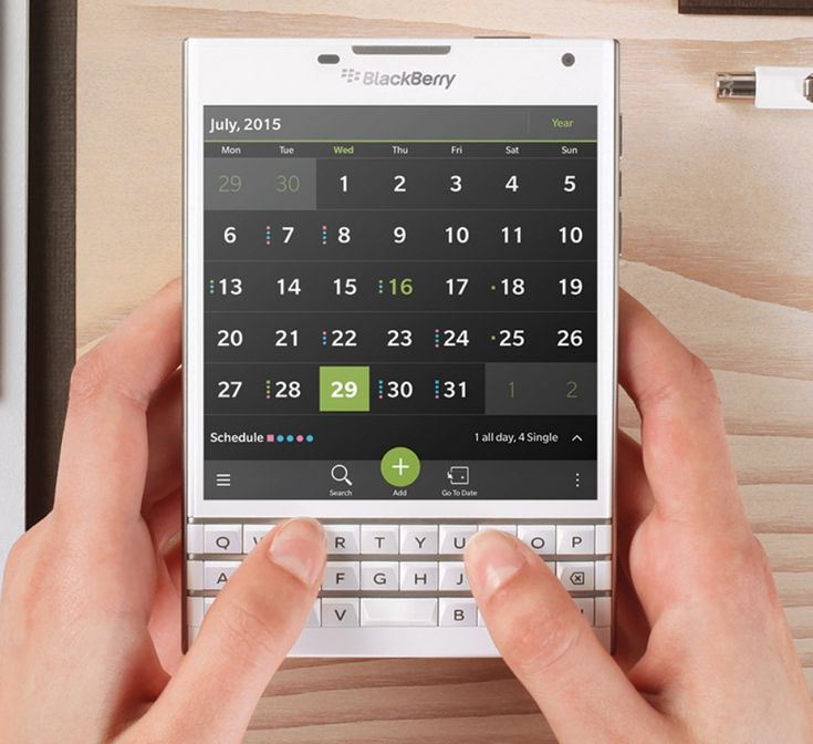 BlackBerry Passport White Model Release Tipped for November