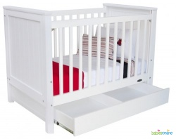 Metro Cot White by Touchwood