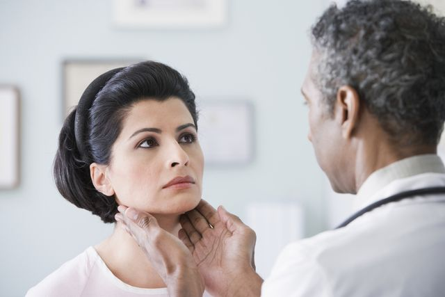 Are You at Risk for Thyroid Disease?: Symptoms of thyroiditis typically include pain and tenderness in the thyroid area, neck and throat.