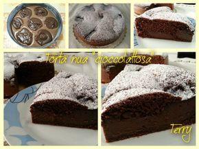 Torta Nua al cioccolato con crema al cioccolato