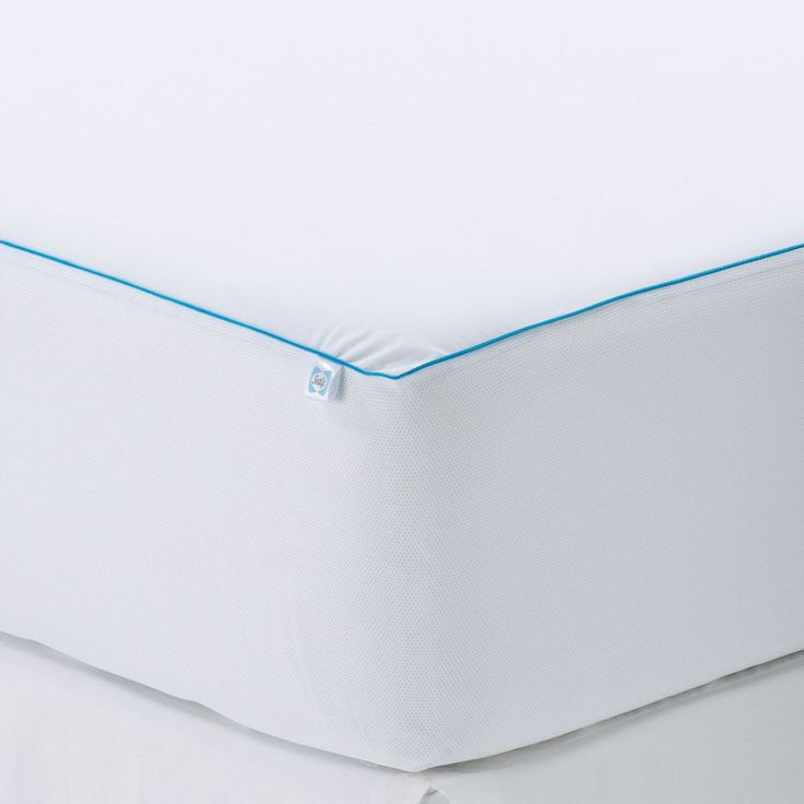 Sealy Posturepedic Cooling Comfort Mattress Protector, White