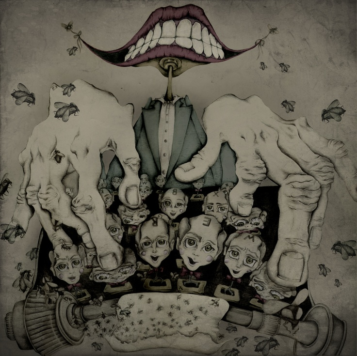 The Machine  By Silvia Prietov
