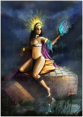 Portal dos Mitos: Itzpapalotl