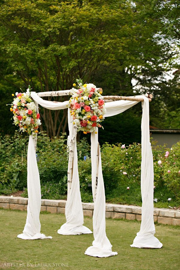 Outdoor Wedding Arbors | arbor | Outdoor Ceremony Decor