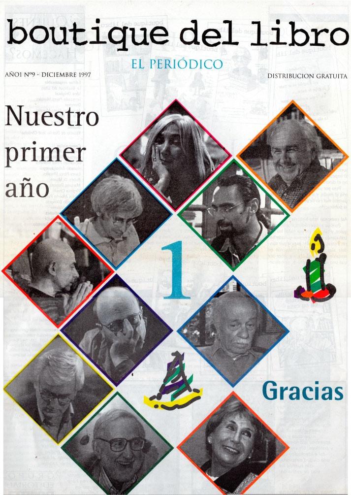 Edición 8 del Periódico Publicado por la Boutique del Libro San Isidro, 30 años