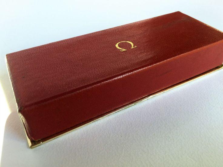 Vintage 1960 Omega watch box, jewelry box - Scatola vintage 1960 per orologio Omega, Orologi da collezione, scatole gioielleria di Quieora su Etsy