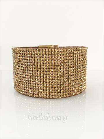 Labelladonna.gr - Περικάρπιο Φαρδύ Χρυσό