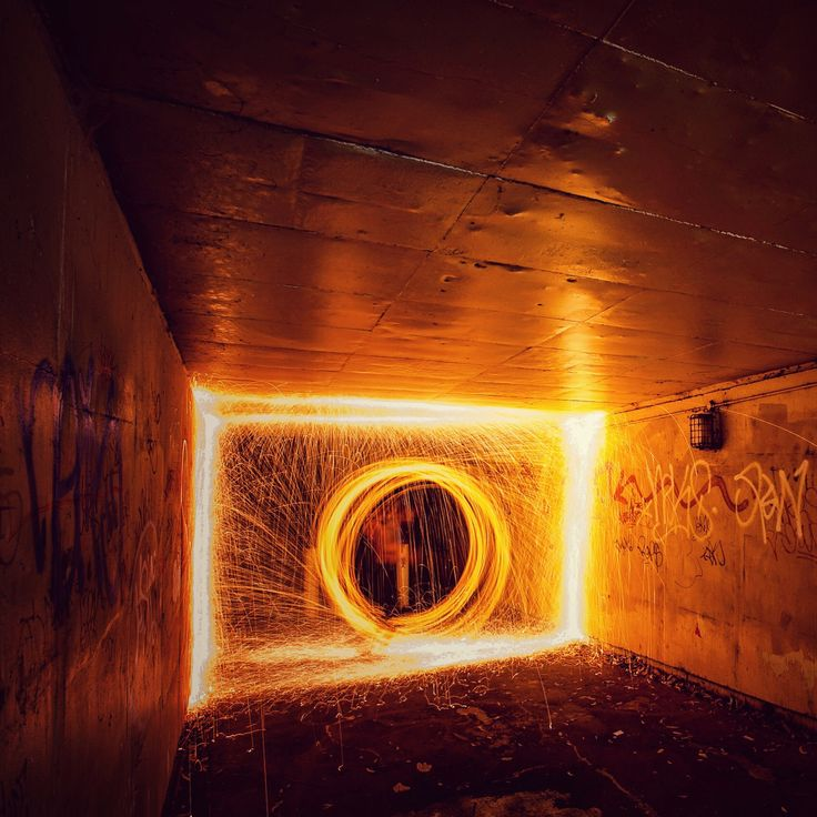 Fire Tunnel Vision    #lightpaintlab #sydneylightpainters #sydneylpcrew #lightpainting