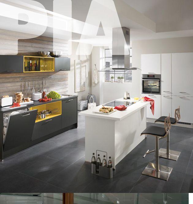 Vsaďte na barevnost Díky systému Barevný koncept si namíchejte vlastní kuchyňskou sestavu, nebojte se uplatnit své nápady a získejte tak velice účelný a přesto svěží a originální kuchyňský prostor. Oboustranná