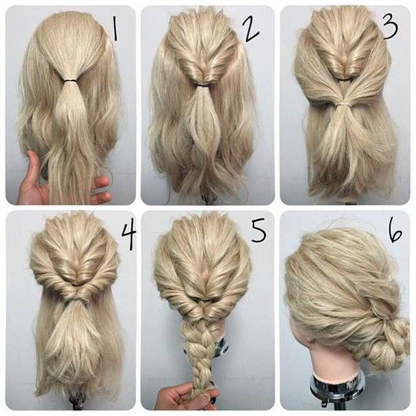 Topsy tail plait