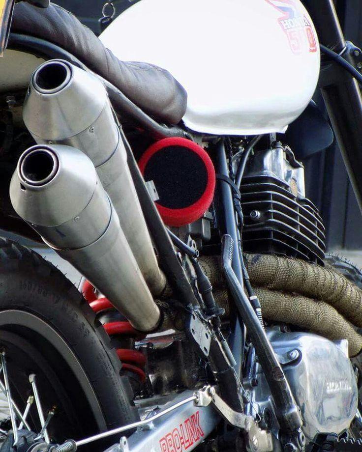 Honda xl500r scrambler  By savage scrambler custom