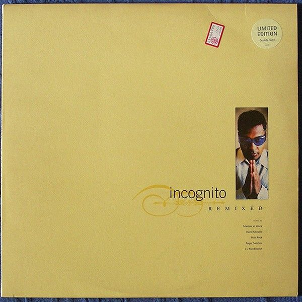 Vinile remixer Incognito. Buy it in robxrecords.it