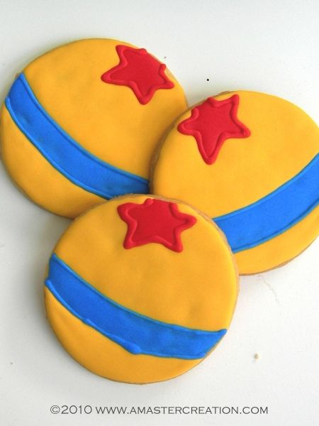 The Toy Story signature ball cookies