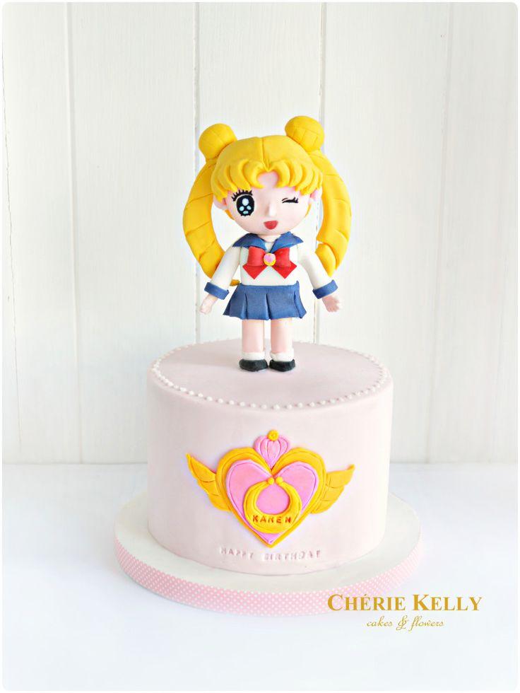 Sailor Moon Cake Cherie Kelly London