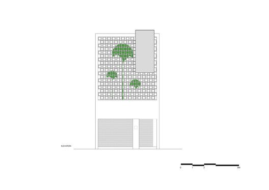 B House,Elevation