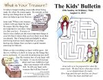 The Kids' Bulletin A fun way for Catholic kids to learn about the Faith every week