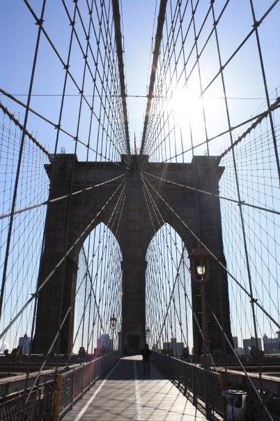 Puente de Brooklyn, Nueva York.