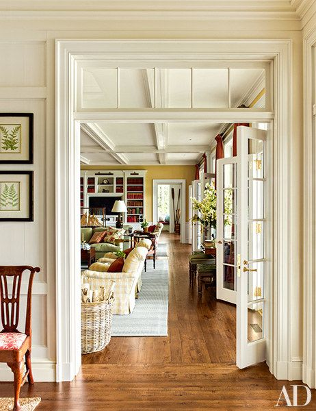 Architect Gil Schafer Crafts a Family Oasis on Lake Placid Photos | Architectural Digest