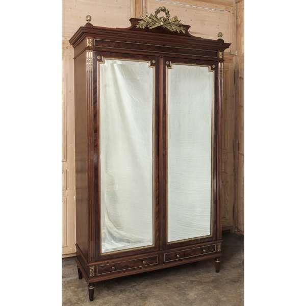 Antique Furniture | Antique Bedroom Furniture | Bedroom Sets | Antique French Louis XVI Bedroom Set (Signed Bastet) | www.inessa.com