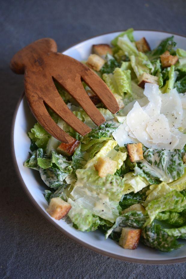 caesar salad -- homemade