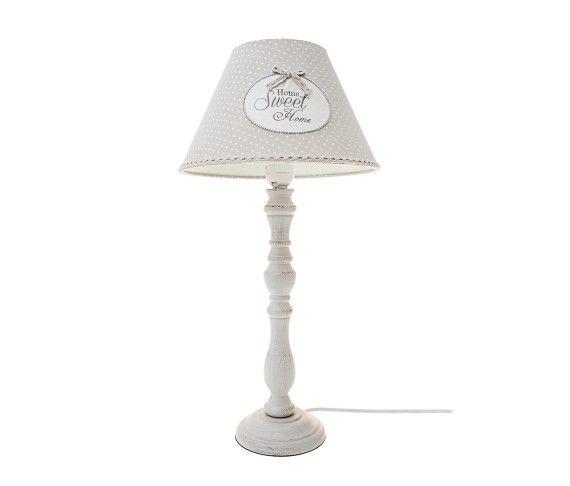 49,90 € - Lampada Cuore Home Sweet Home, stile Shabby Chic, simpatica idea regalo, cm. 50.