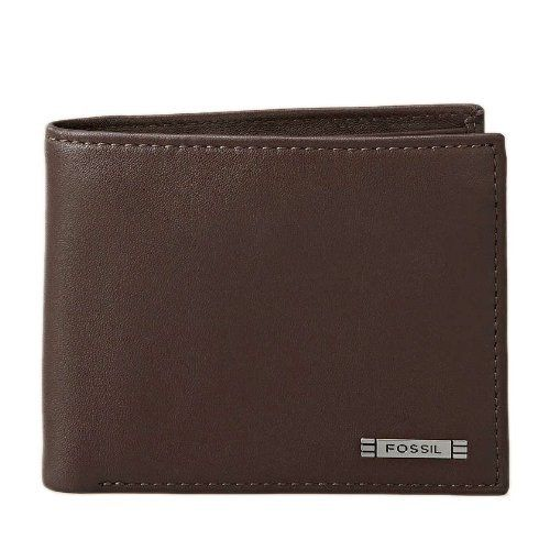 Fossil Men's 'Evans' Zip Traveler Wallet by Fossil. Save 3 Off!. $36.99. The heart and soul of FOSSIL is its unique kind of inspired creativity. Representing the concept of accessible cool, Fossil's identity is anchored in vintage authentic style mixed with a creative spirit and a sense of humor that extends into all its product offerings, graphics and one-of-a-kind, trademark collectible tins. Fossil creates modern yet vintage products for everyone, a simple yet compelling idea reflec...