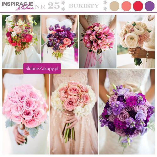 Piękny bukiet można stworzyć nie tylko z klasycznych róż, ale też ze ślicznych kwiatów sezonowych.