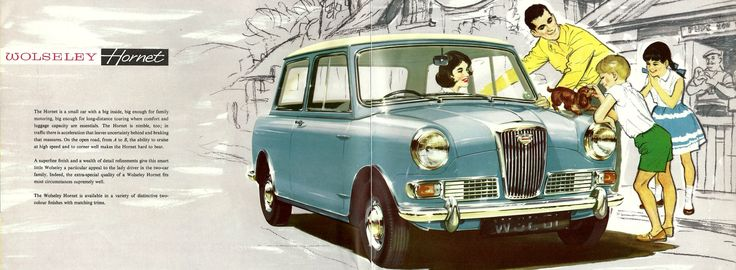 1963 Wolseley Hornet